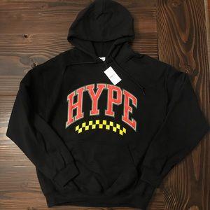 NWT Large Men's Hype Hooded Sweatshirt